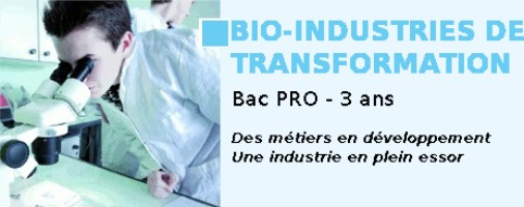 Formation bio INDUSTRIE